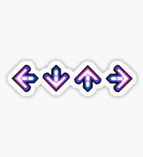 DDR: Arrows Sticker