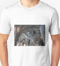 Mont St Michel Abbey Interior Unisex T-Shirt