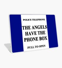 The Angels have the Phone Box Laptop Skin