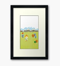 Story book Framed Print