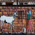 Wash Day For Zebras by Al Bourassa