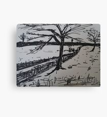 Uk Countryside  Canvas Print