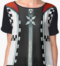 Roxas T-Shirt (Kingdom Hearts 2) Chiffon Top