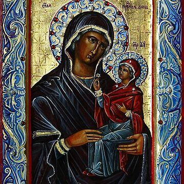 Saint Anne, Mother of the Virgin. by Lvova