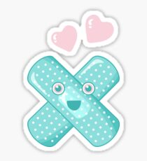 Pastel Happy Plaster Sticker
