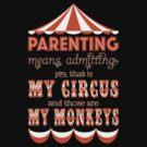 My Circus My Monkeys by jphiliphorne