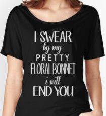floral bonnet Women's Relaxed Fit T-Shirt