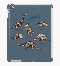 Dinosaur skeletons iPad Case/Skin