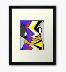 Batducky VS Superducky Framed Print