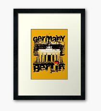 EURO BERLIN Framed Print