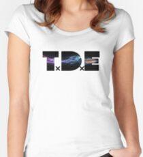 TDE bullet shoot Women's Fitted Scoop T-Shirt