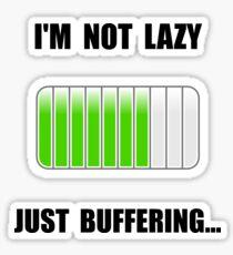 Lazy Buffering Sticker