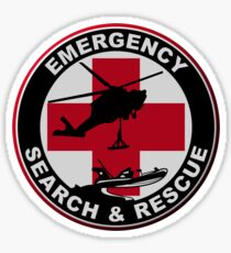 Emergency Rescue Sticker