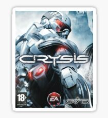 Crysis 1 Cover Sticker