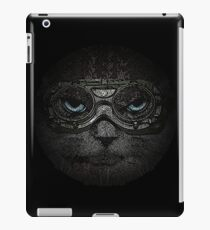 Sulky Steampunk Cat with Goggles and Attitude iPad Case/Skin