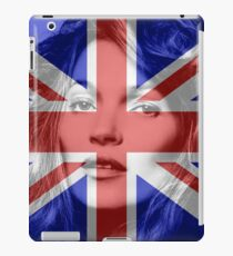 Kate Moss Made In Britain iPad Case/Skin