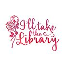 I'll Take the Library + Pink by eacreative