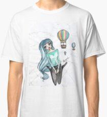 Girls and balloons - Manga Classic T-Shirt