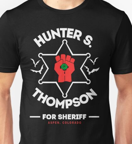 Hunter S Thompson Unisex T-Shirt