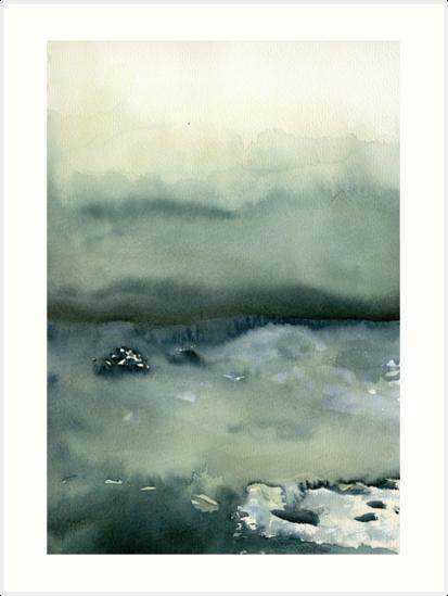 ocean landscape by linda ahlskog