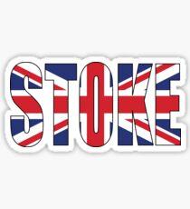 Stoke. Sticker