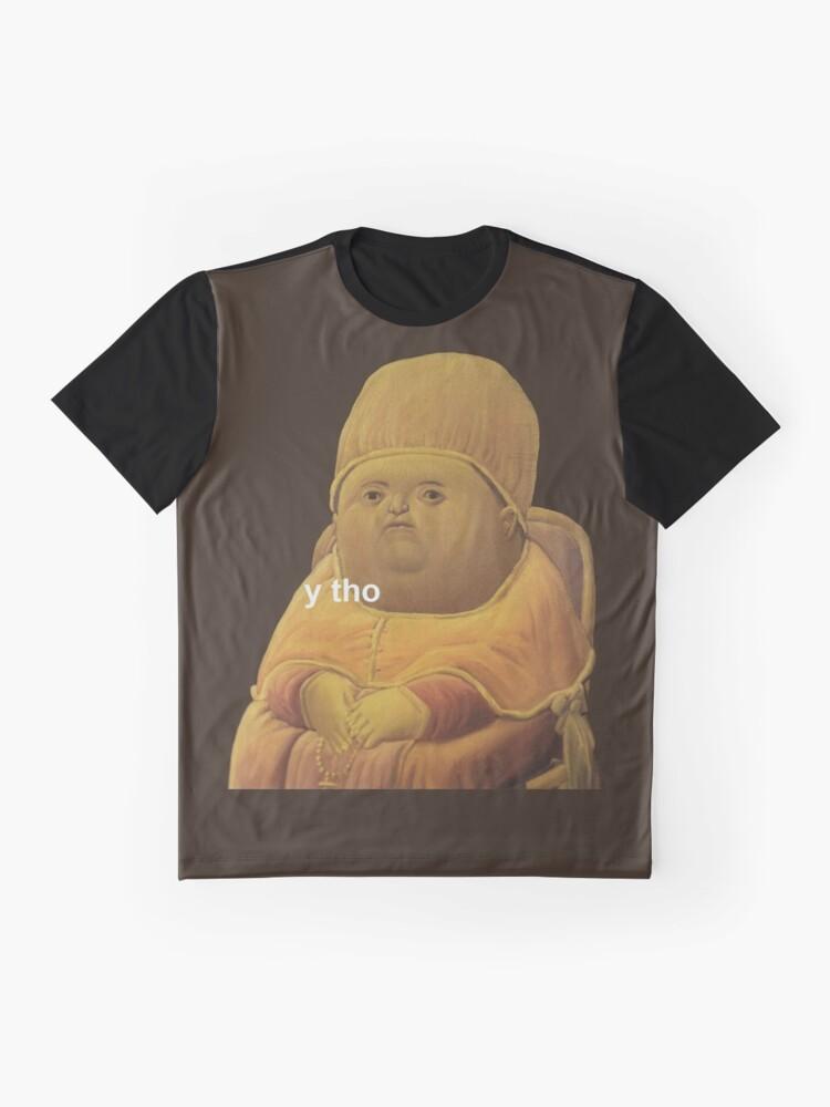 Alternative Ansicht von y tho Grafik T-Shirt