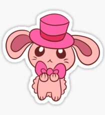 Tophat Bunny Sticker