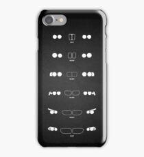 5 Heritage, 1972-Present day (E12, E28, E34, E39, E60, F10) Grungy vignette background iPhone Case/Skin