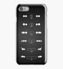 5 Heritage, 1972-Present day (E12, E28, E34, E39, E60, F10) Grungy vignette background iPhone Case/Skin