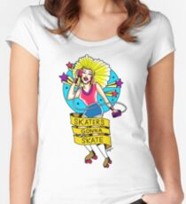 Skaters gonna Skate! Women's Fitted Scoop T-Shirt