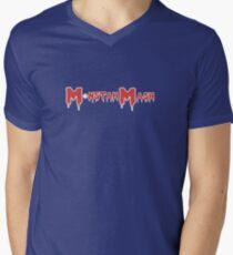 Monstah Mash gets Soxy Men's V-Neck T-Shirt