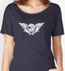 Skies of Arcadia (White Logo) Women's Relaxed Fit T-Shirt