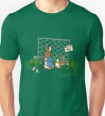 Peter's Backyard Bargains - Gardening with Rabbits! Unisex T-Shirt