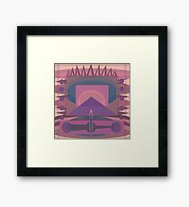 Ediemagic Quilted Time Traveller Framed Print