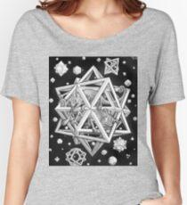 MC Escher Halftone Women's Relaxed Fit T-Shirt