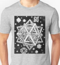 MC Escher Halftone Unisex T-Shirt