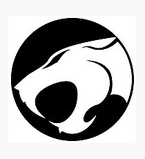 Thundercats WHITE & BLACK Photographic Print