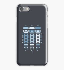 Acorn Rocket Bots Blue iPhone Case/Skin