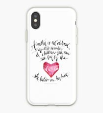 A Mother is Not Defined by the number of children you can see, but by the love she holds in her heart. - Franchesca Cox iPhone Case