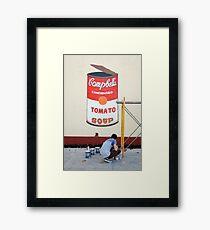 Imitating Warhol in Cienfuegos, Cuba Framed Print