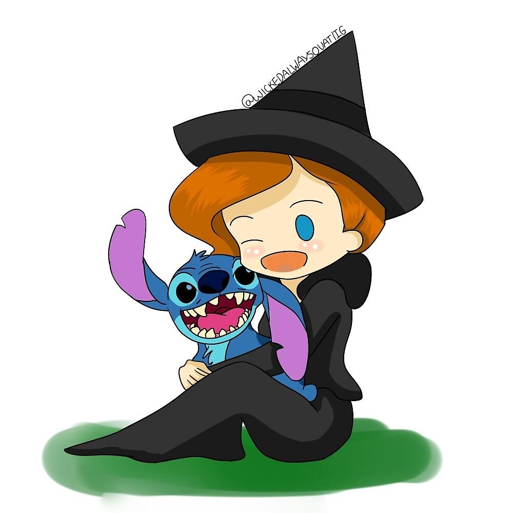 Zelena and Stitch by WickedAlways