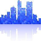 City skyline by Alexzel