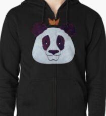 Hagel Panda Hoodie mit Reißverschluss