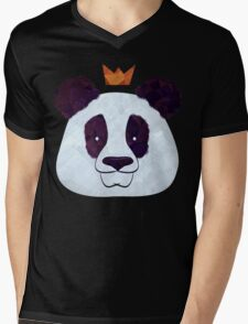 Hail Panda Mens V-Neck T-Shirt