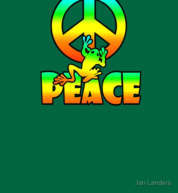 Peace Frog  by Jan Landers