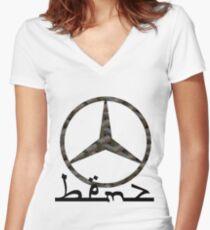 Mercedes x Goyard x Noahandsons Women's Fitted V-Neck T-Shirt