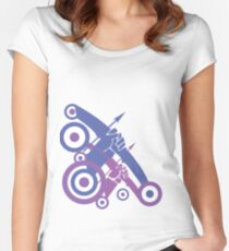 Take Aim Women's Fitted Scoop T-Shirt