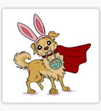 Easter Bunny Mighty Jack Sticker