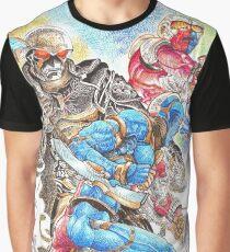 Kikaidas Battlefield Graphic T-Shirt