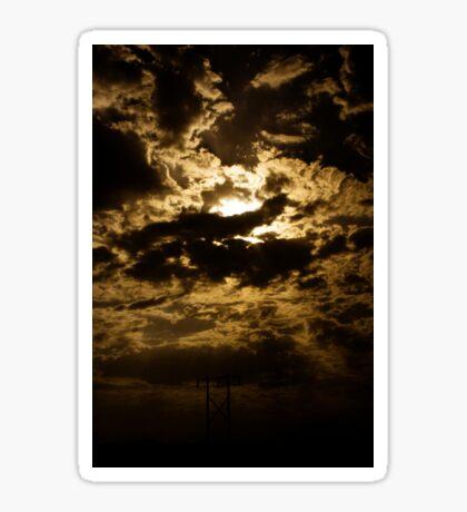 The Irani Sky Sticker